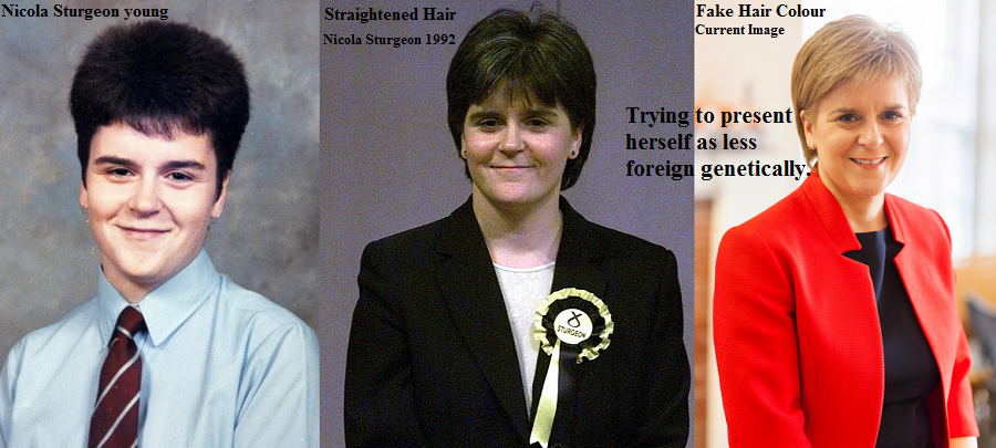 Nicola Sturgeon Celtic Negro